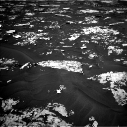 Nasa's Mars rover Curiosity acquired this image using its Left Navigation Camera on Sol 1730, at drive 450, site number 64