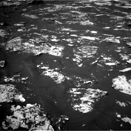 Nasa's Mars rover Curiosity acquired this image using its Left Navigation Camera on Sol 1730, at drive 498, site number 64