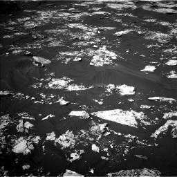 Nasa's Mars rover Curiosity acquired this image using its Left Navigation Camera on Sol 1730, at drive 522, site number 64