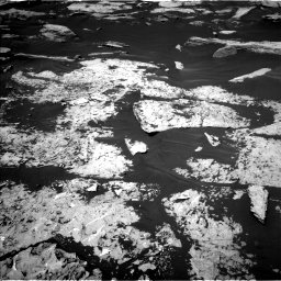 Nasa's Mars rover Curiosity acquired this image using its Left Navigation Camera on Sol 1730, at drive 594, site number 64
