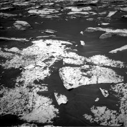 Nasa's Mars rover Curiosity acquired this image using its Left Navigation Camera on Sol 1730, at drive 600, site number 64