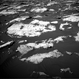 Nasa's Mars rover Curiosity acquired this image using its Left Navigation Camera on Sol 1730, at drive 660, site number 64