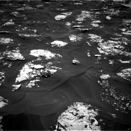 Nasa's Mars rover Curiosity acquired this image using its Right Navigation Camera on Sol 1730, at drive 438, site number 64
