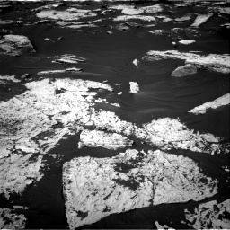 Nasa's Mars rover Curiosity acquired this image using its Right Navigation Camera on Sol 1730, at drive 606, site number 64