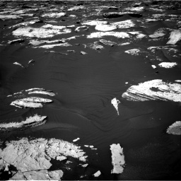 Nasa's Mars rover Curiosity acquired this image using its Right Navigation Camera on Sol 1730, at drive 624, site number 64