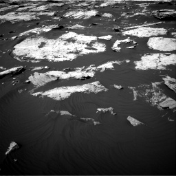Nasa's Mars rover Curiosity acquired this image using its Right Navigation Camera on Sol 1730, at drive 654, site number 64