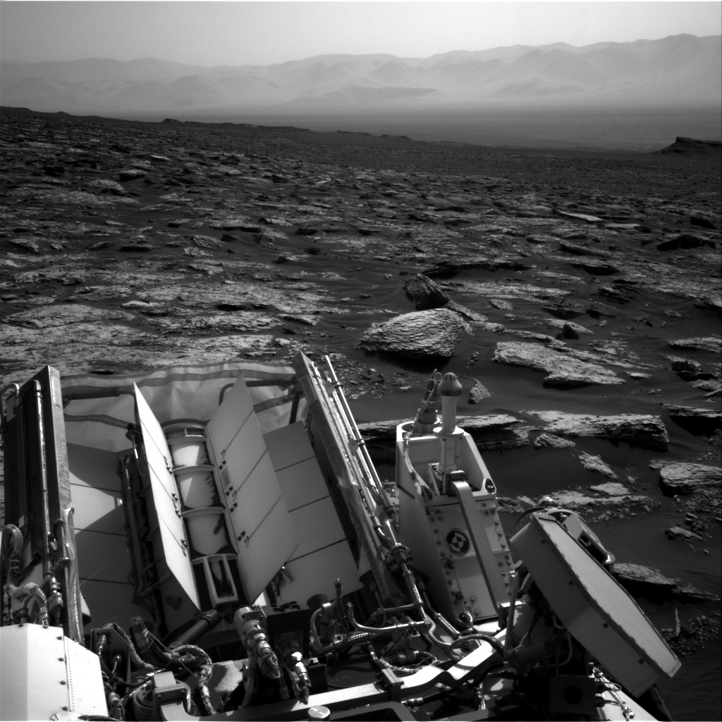 Nasa's Mars rover Curiosity acquired this image using its Right Navigation Camera on Sol 1730, at drive 678, site number 64