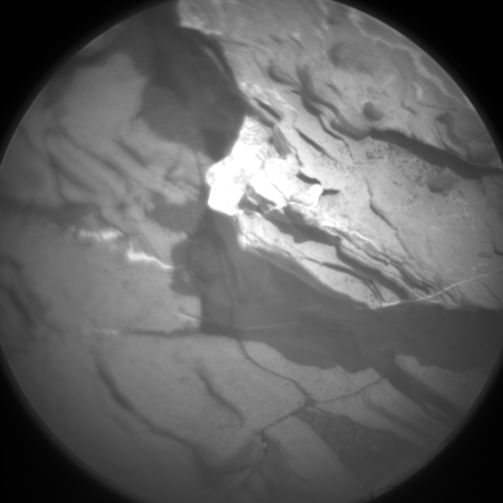 Nasa's Mars rover Curiosity acquired this image using its Chemistry & Camera (ChemCam) on Sol 1731, at drive 678, site number 64
