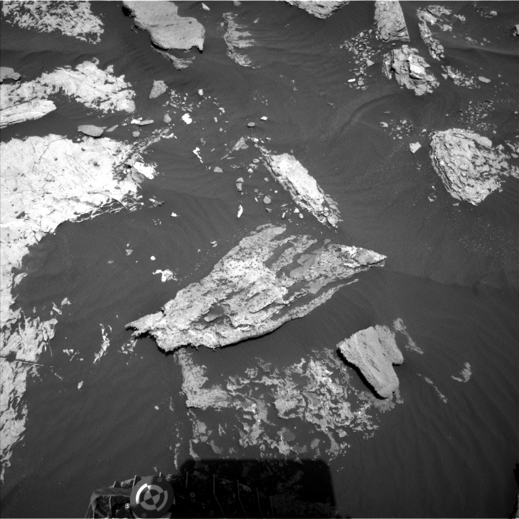 NASA's Mars rover Curiosity acquired this image using its Left Navigation Camera (Navcams) on Sol 1731