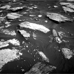 Nasa's Mars rover Curiosity acquired this image using its Left Navigation Camera on Sol 1732, at drive 678, site number 64