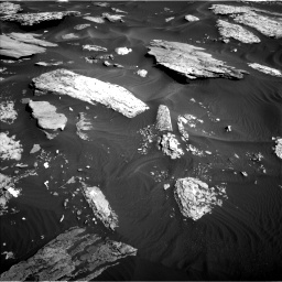 Nasa's Mars rover Curiosity acquired this image using its Left Navigation Camera on Sol 1732, at drive 684, site number 64
