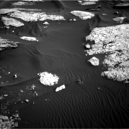 Nasa's Mars rover Curiosity acquired this image using its Left Navigation Camera on Sol 1732, at drive 696, site number 64