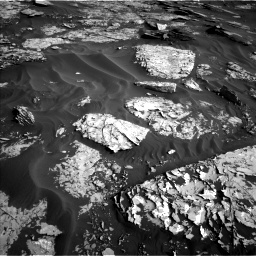 Nasa's Mars rover Curiosity acquired this image using its Left Navigation Camera on Sol 1732, at drive 834, site number 64