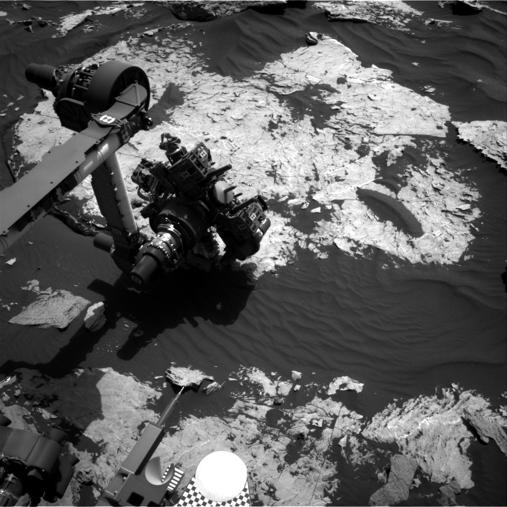 Nasa's Mars rover Curiosity acquired this image using its Right Navigation Camera on Sol 1732, at drive 678, site number 64