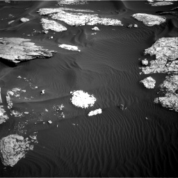 Nasa's Mars rover Curiosity acquired this image using its Right Navigation Camera on Sol 1732, at drive 690, site number 64