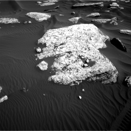 Nasa's Mars rover Curiosity acquired this image using its Right Navigation Camera on Sol 1732, at drive 702, site number 64