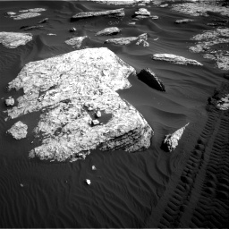 Nasa's Mars rover Curiosity acquired this image using its Right Navigation Camera on Sol 1732, at drive 708, site number 64
