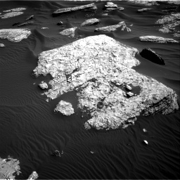Nasa's Mars rover Curiosity acquired this image using its Right Navigation Camera on Sol 1732, at drive 720, site number 64
