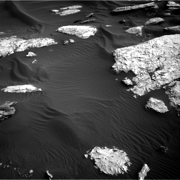 Nasa's Mars rover Curiosity acquired this image using its Right Navigation Camera on Sol 1732, at drive 732, site number 64