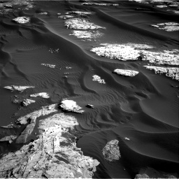 Nasa's Mars rover Curiosity acquired this image using its Right Navigation Camera on Sol 1732, at drive 768, site number 64