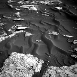 Nasa's Mars rover Curiosity acquired this image using its Right Navigation Camera on Sol 1732, at drive 786, site number 64