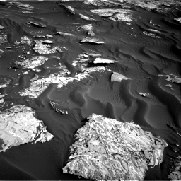 Nasa's Mars rover Curiosity acquired this image using its Right Navigation Camera on Sol 1732, at drive 792, site number 64