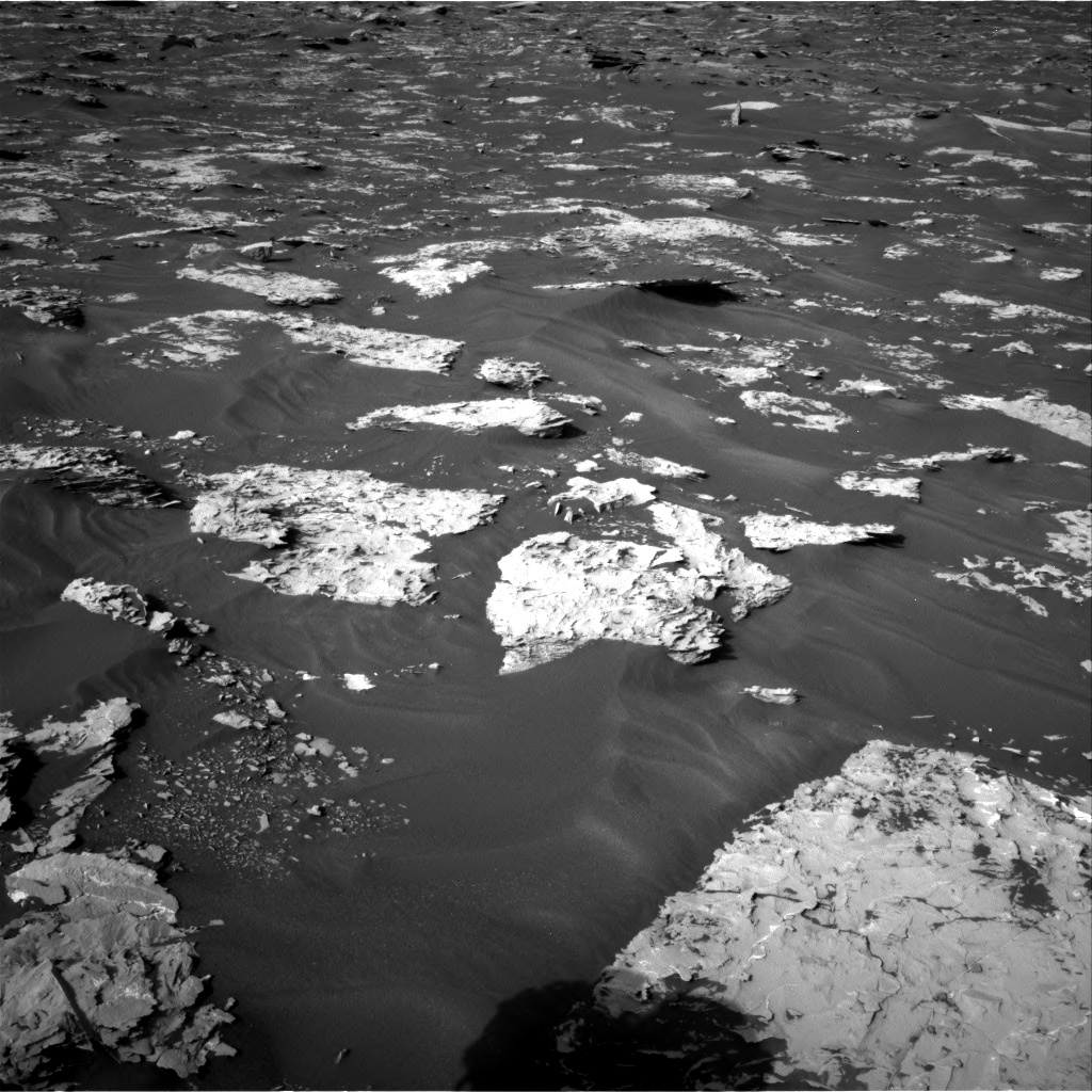 Nasa's Mars rover Curiosity acquired this image using its Right Navigation Camera on Sol 1732, at drive 810, site number 64