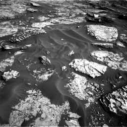 Nasa's Mars rover Curiosity acquired this image using its Right Navigation Camera on Sol 1732, at drive 840, site number 64