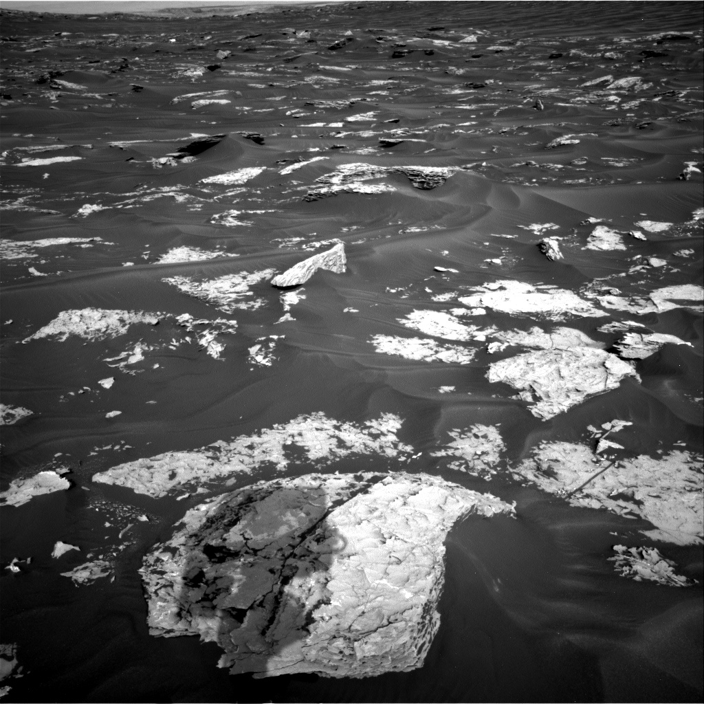 Nasa's Mars rover Curiosity acquired this image using its Right Navigation Camera on Sol 1732, at drive 846, site number 64