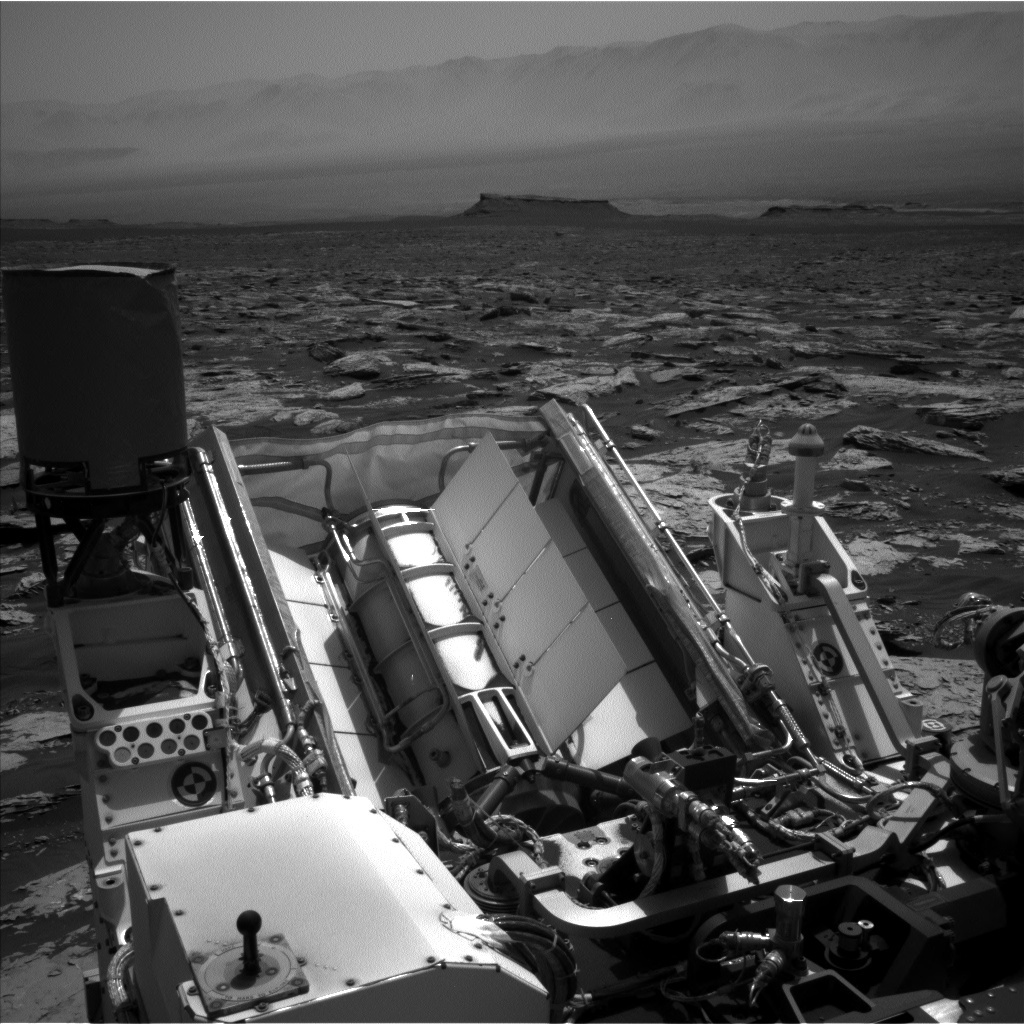NASA's Mars rover Curiosity acquired this image using its Left Navigation Camera (Navcams) on Sol 1733