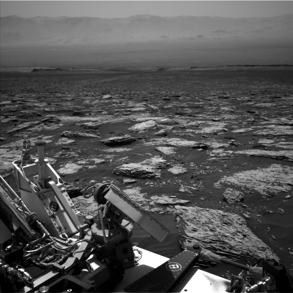 Nasa's Mars rover Curiosity acquired this image using its Left Navigation Camera on Sol 1733, at drive 846, site number 64