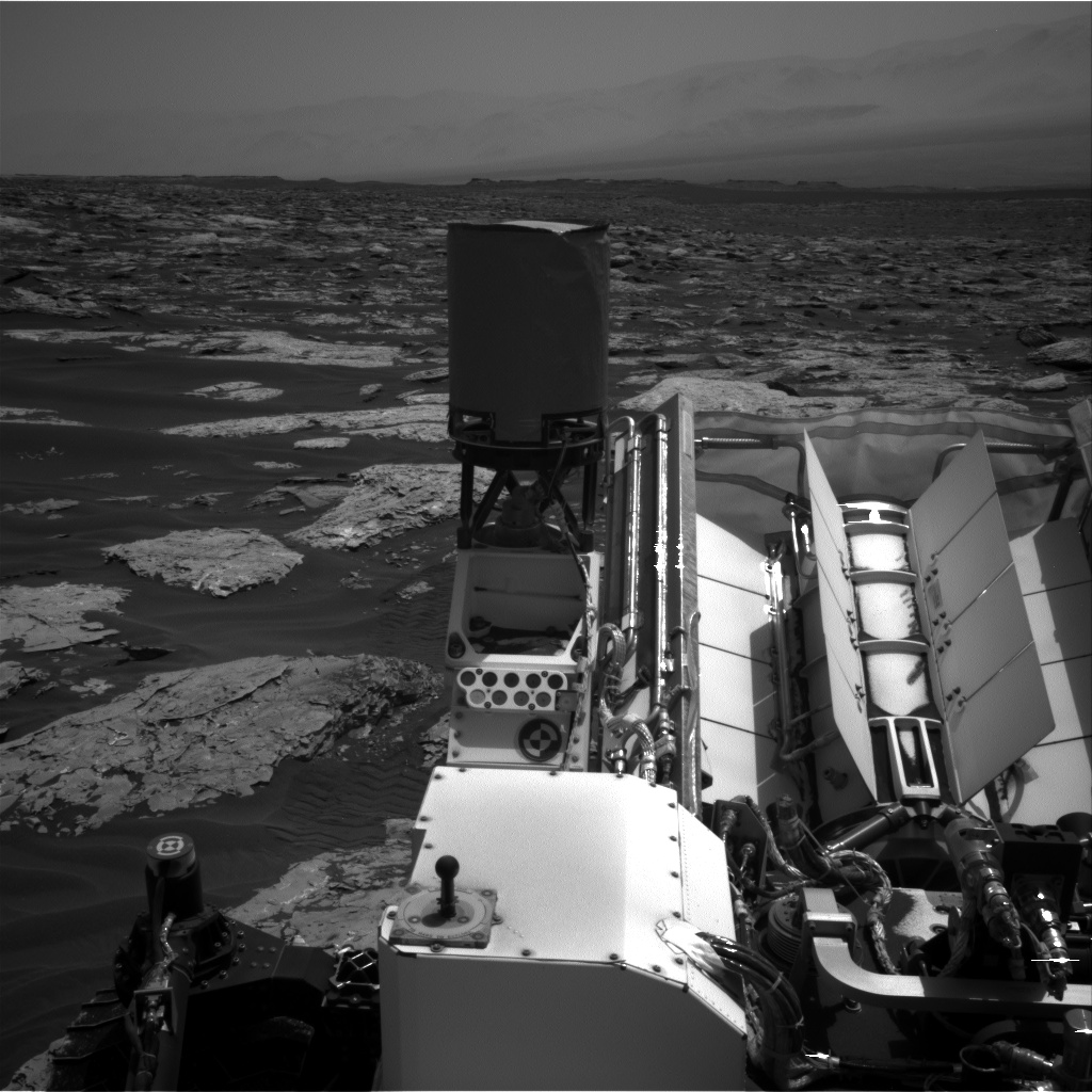 Nasa's Mars rover Curiosity acquired this image using its Right Navigation Camera on Sol 1733, at drive 846, site number 64