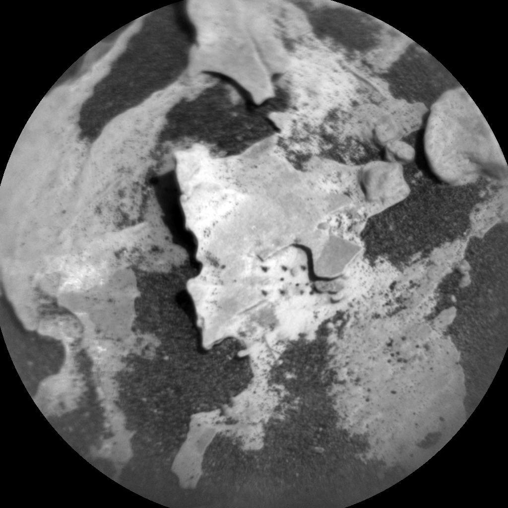 Nasa's Mars rover Curiosity acquired this image using its Chemistry & Camera (ChemCam) on Sol 1733, at drive 846, site number 64