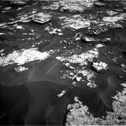 Nasa's Mars rover Curiosity acquired this image using its Left Navigation Camera on Sol 1734, at drive 852, site number 64