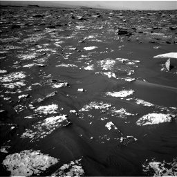 Nasa's Mars rover Curiosity acquired this image using its Left Navigation Camera on Sol 1734, at drive 912, site number 64