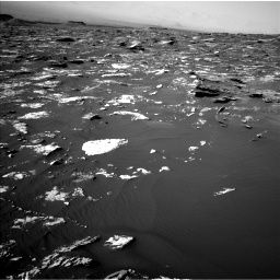 Nasa's Mars rover Curiosity acquired this image using its Left Navigation Camera on Sol 1734, at drive 960, site number 64