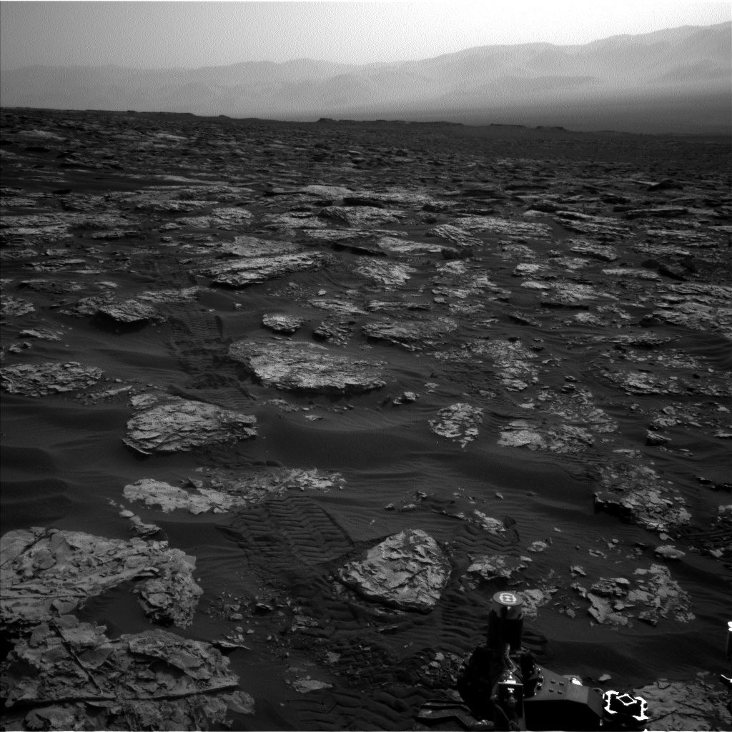 Nasa's Mars rover Curiosity acquired this image using its Left Navigation Camera on Sol 1734, at drive 996, site number 64