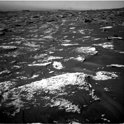 Nasa's Mars rover Curiosity acquired this image using its Right Navigation Camera on Sol 1734, at drive 870, site number 64