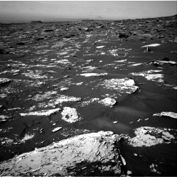 Nasa's Mars rover Curiosity acquired this image using its Right Navigation Camera on Sol 1734, at drive 876, site number 64