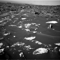 Nasa's Mars rover Curiosity acquired this image using its Right Navigation Camera on Sol 1734, at drive 918, site number 64