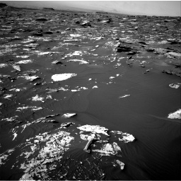 Nasa's Mars rover Curiosity acquired this image using its Right Navigation Camera on Sol 1734, at drive 954, site number 64