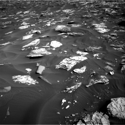 Nasa's Mars rover Curiosity acquired this image using its Right Navigation Camera on Sol 1734, at drive 972, site number 64
