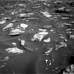 Nasa's Mars rover Curiosity acquired this image using its Right Navigation Camera on Sol 1734, at drive 984, site number 64