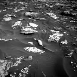 Nasa's Mars rover Curiosity acquired this image using its Right Navigation Camera on Sol 1734, at drive 990, site number 64