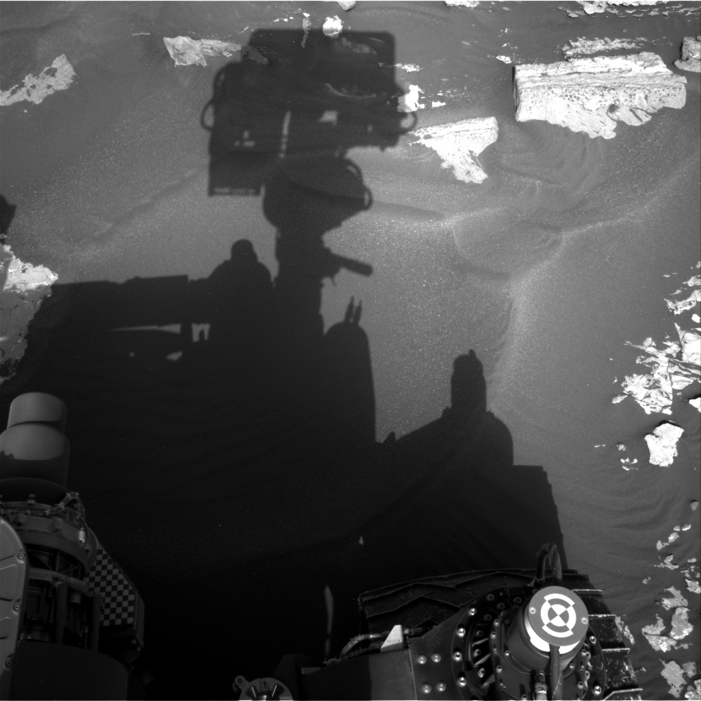 Nasa's Mars rover Curiosity acquired this image using its Right Navigation Camera on Sol 1734, at drive 996, site number 64