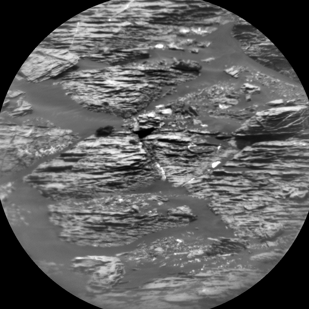 Nasa's Mars rover Curiosity acquired this image using its Chemistry & Camera (ChemCam) on Sol 1734, at drive 846, site number 64