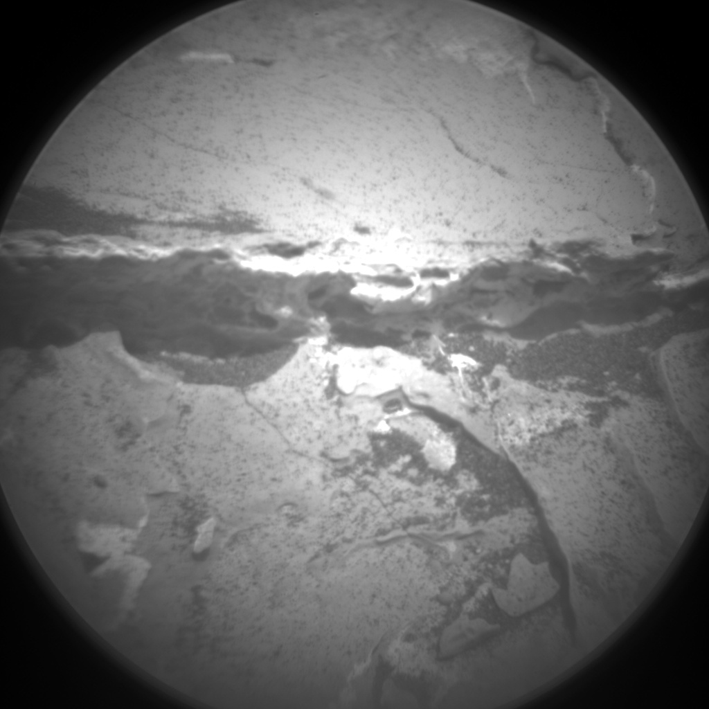 Nasa's Mars rover Curiosity acquired this image using its Chemistry & Camera (ChemCam) on Sol 1736, at drive 996, site number 64