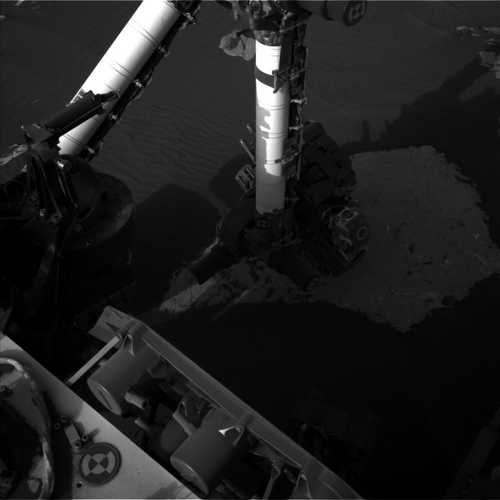 Nasa's Mars rover Curiosity acquired this image using its Left Navigation Camera on Sol 1736, at drive 996, site number 64