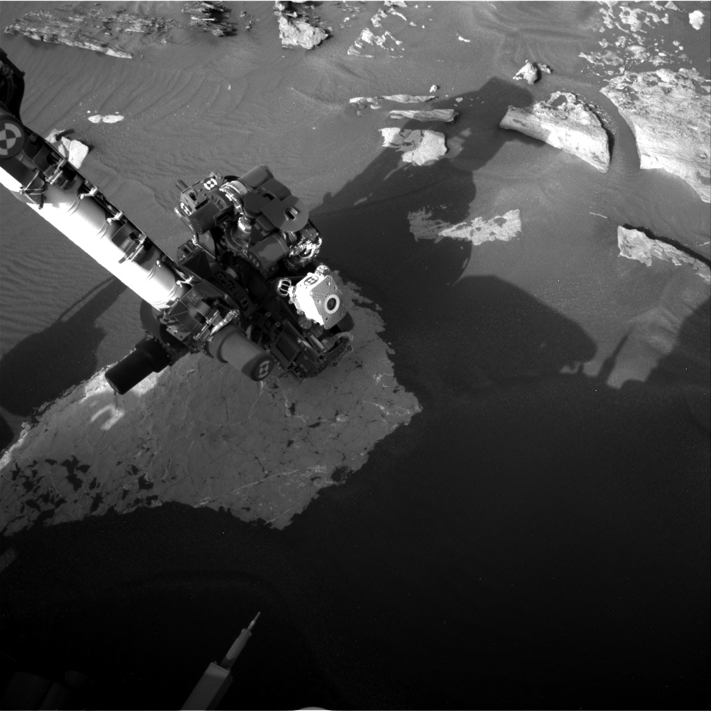 Nasa's Mars rover Curiosity acquired this image using its Right Navigation Camera on Sol 1736, at drive 996, site number 64