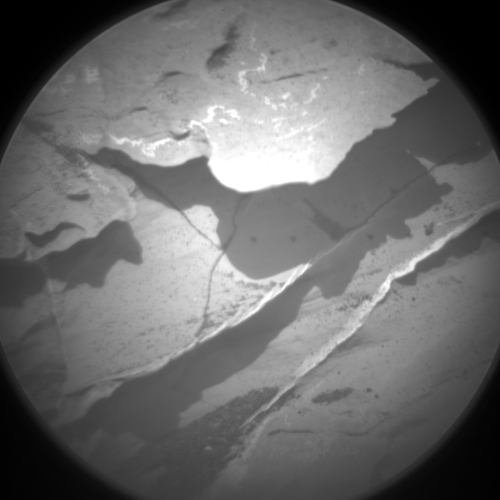 Nasa's Mars rover Curiosity acquired this image using its Chemistry & Camera (ChemCam) on Sol 1737, at drive 996, site number 64